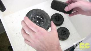 How-To: Clean RC off-road Tires