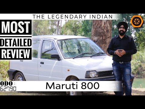 Maruti 800 | Detailed Review | Long Term 62K KMs | Spare Wheel