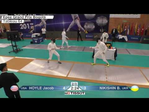 FE M E Individual Bogota COL Grand Prix 2017 T64 25 yellow NIKISHIN UKR vs HOYLE USA