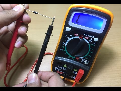 How to test Diodes Using a Digital Multimeter
