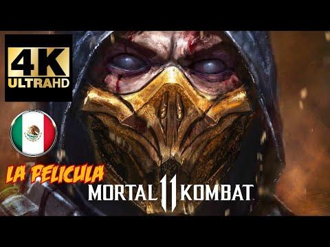 4K Mortal Kombat 11 *Película Completa* en Español Latino Todas las Escenas