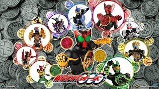 Tất cả hình dạng chính của Siêu Nhân Đồng Xu | Kamen Rider OOO - All form thumbnail