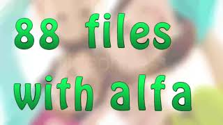 ABC For Kids After Effects Project Files Videohive Template