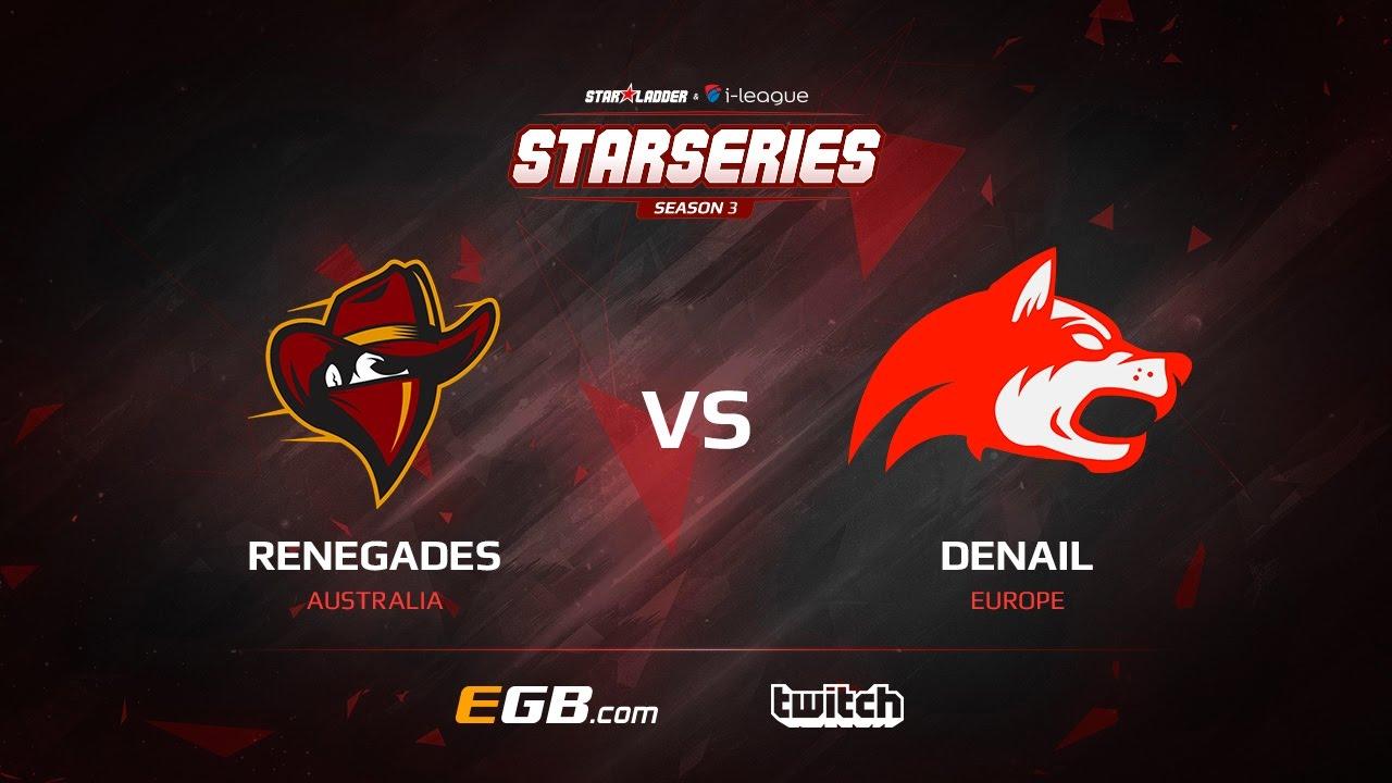 Renegades vs Denial, map 1 train, SL i-League StarSeries Season 3 NA Qualifier