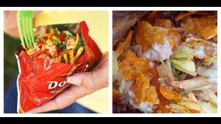 Taco Salad In A Bag: Under 3 Minutes!