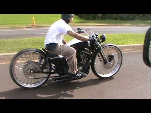 Custom Nightster Quot Boardtrackster Quot Youtube