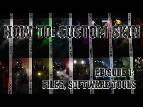 How to: Custom Skin Episode 1: Files, tools and software
