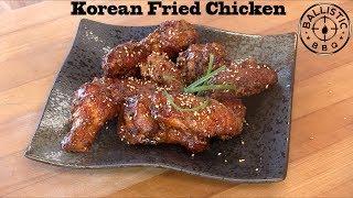 Korean Fried Chicken Wings | Crunchy Korean fried chicken recipe (Dakgangjeong: 닭강정)