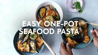 Quick & easy seafood pasta | Food | Woolworths SA