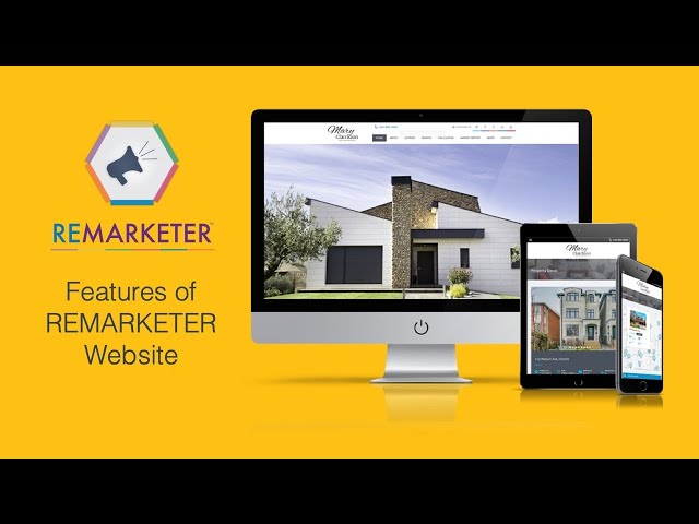 REMARKETER Training- Features of the REMARKETER Website