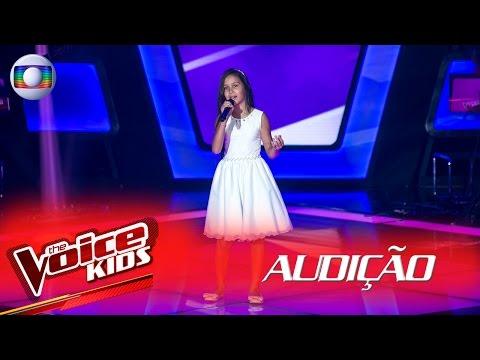 Hadassa Priscila canta 'Era Uma Vez' na Audição –  The Voice Kids Brasil | 2ª Temporada