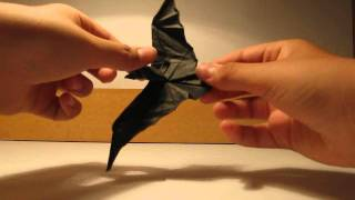 Origami Bat,crane And Squid