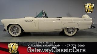 1956 Ford Thunderbird Gateway Classic Cars Orlando #668