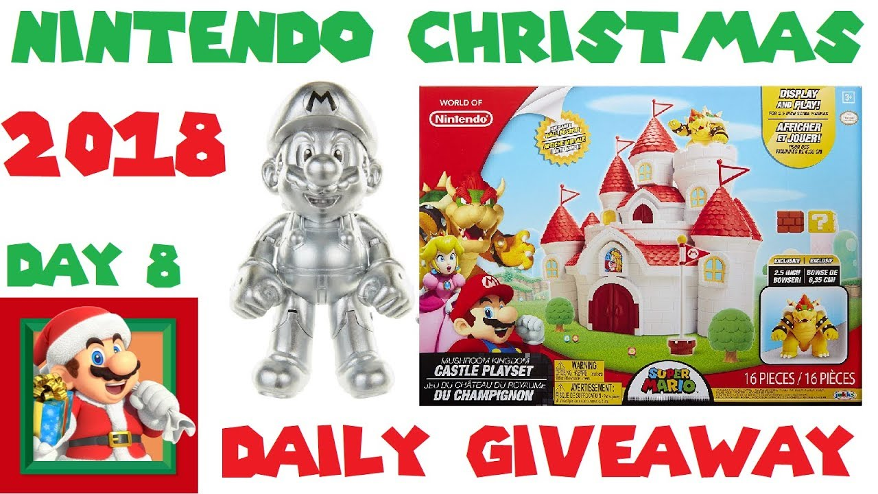 Nintendo Christmas.Day 8 Of Nintendo Christmas World Of Nintendo Figures Giveaway