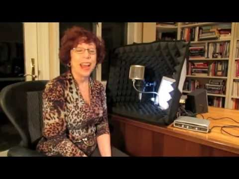 A Tour Of My Home Voice Over Studio - Voice Over Training From GreatVoice.com