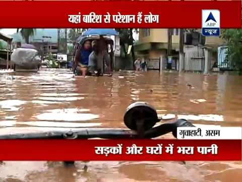 Rains throw Guwahati life out of gear‎