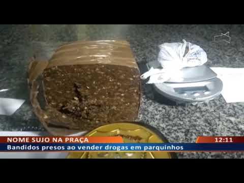 DFA - Bandidos presos ao vender drogas em parquinhos