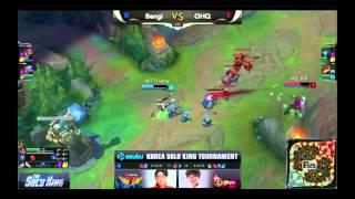 Giải Solo King Hàn Quốc (vòng 1-16) | Bengi (Lucian) vs OHQ (Kalista) | Game 2