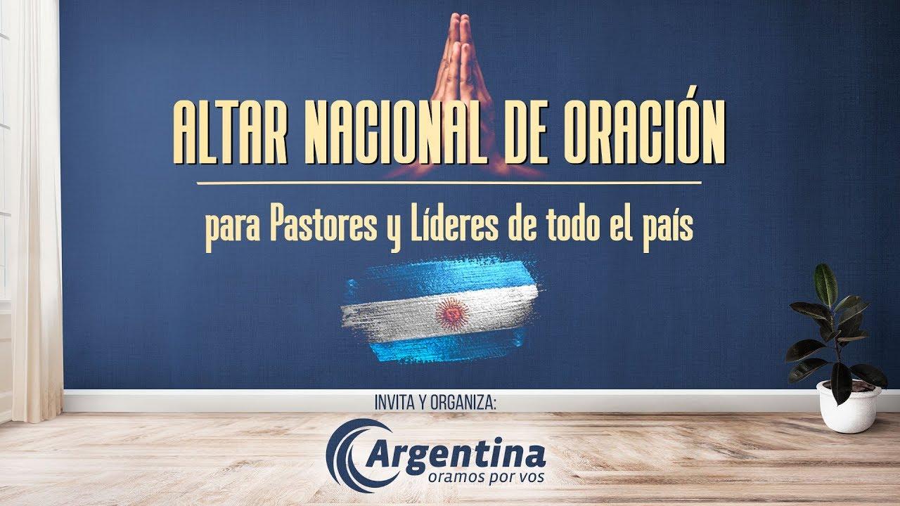 Altar Nacional de Oración | Jueves 06/08 12 hs.