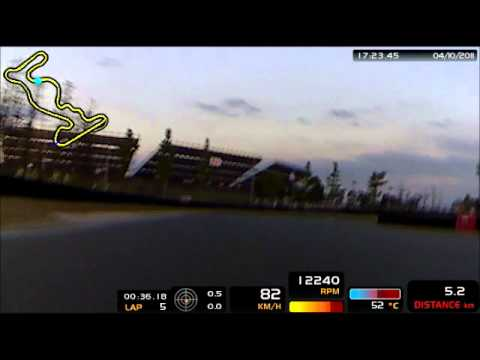 SIC Kartworld Shanghai training lap.wmv