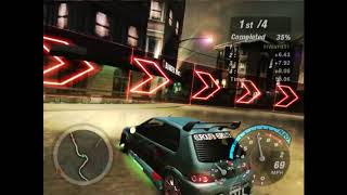 Need For Speed Underground 2 - Hidden/Secret race Sprint #18 - Jacksons Heights