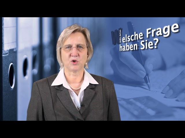 Stb Welsch – Progressionsvorbehalt