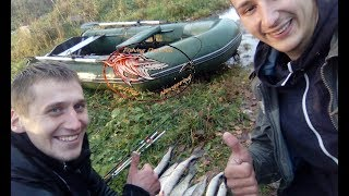 Ловля щуки в октябре. Ловля щуки на спиннинг, на джиг и отводной поводок! Река Волхов!