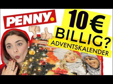10€ BILLIG ADVENTSKALENDER VON PENNY! Wieder das gleiche drin?