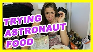 Trying Astronaut/Camping Food!!!