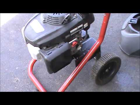 Honda Excell Pressure Washer Repair