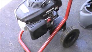 Honda Excell Pressure Washer Repair