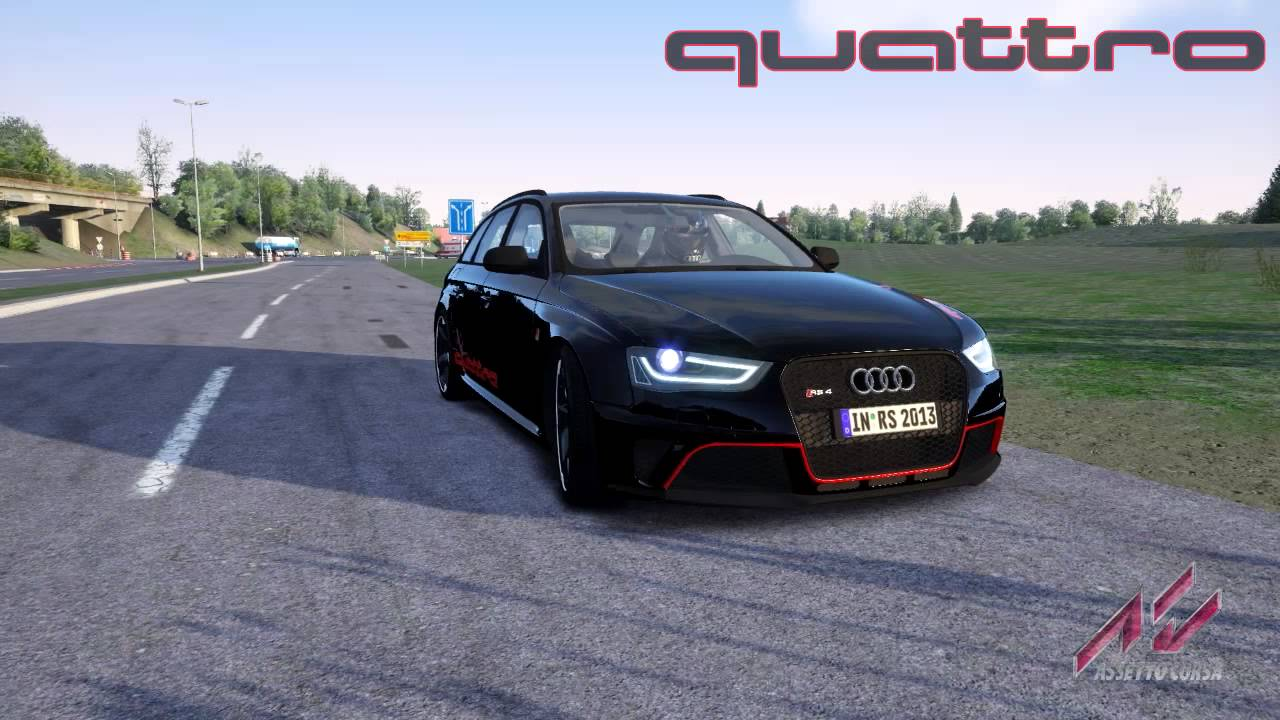 Assetto Corsa Audi Rs4 2013 Youtube