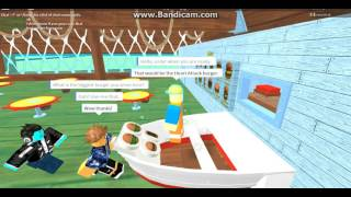 Work At A Pizza Place | Secret Krusty Krab Server | Roblox