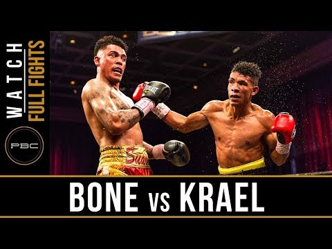 Bone vs Krael FULL FIGHT: May 11, 2018 - PBC on BOUNCE