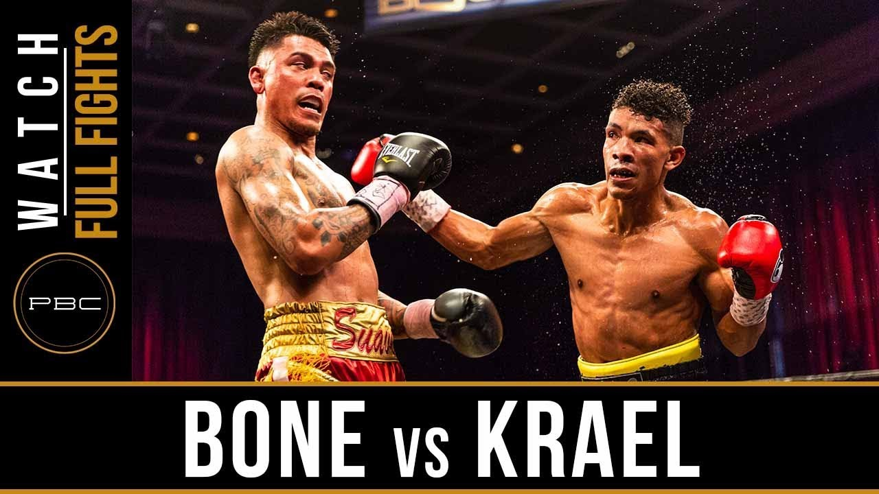 Bone vs Krael FULL FIGHT: May 11, 2018