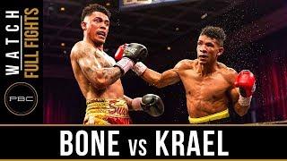 Bone vs Krael FULL FIGHT: May 11, 2018 - PBC on BOUNCE