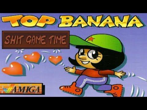 SHIT GAME TIME: TOP BANANA (AMIGA - Contains Swearing!)