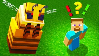 NEW QUEEN BEE in Minecraft 1.15 is TERRIFYING!!