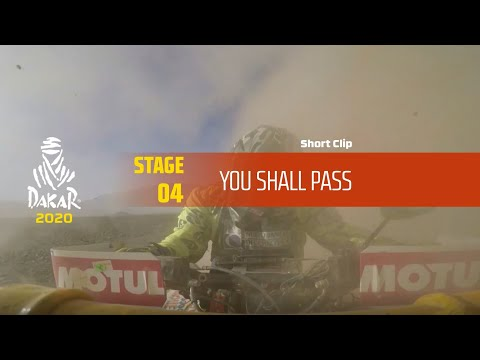 Dakar 2020 - Stage 4 - You shall pass from YouTube · Duration:  19 seconds