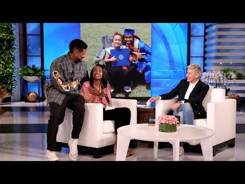 Usher and Ellen