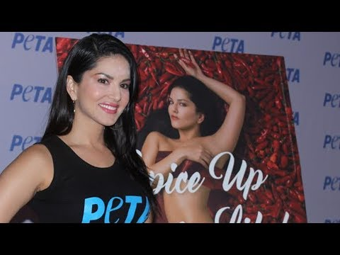 Sunny Leone पहुची Peta India Campaign पर | World Environment Day