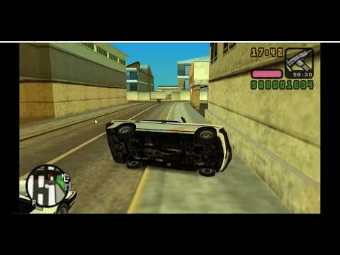 Cheat To Fly A Car In GTA Vice City PSP