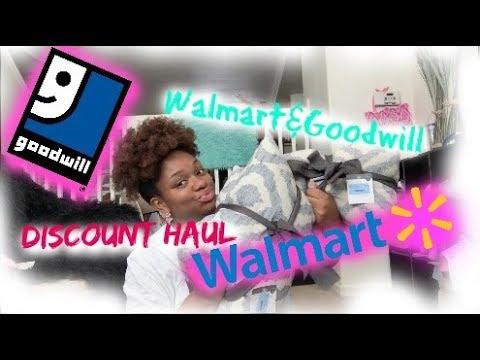WALMART & GOODWILL HAUL|DISCOUNT SHOPPING FOR 7 KIDS!