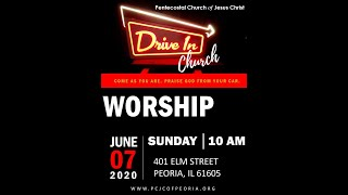 Invitation to Drive-In Worship -Pastor Henry Bolden