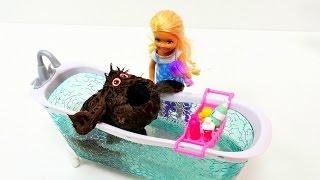 Развивающие видео про куклы для девочек: Барби и тайная жизнь животных. Игры для девочек(Развивающие видео про куклы и игры для девочек на канале «Лайкландия». Увлекательные приключения про Барби..., 2016-12-13T15:09:42.000Z)