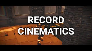 Fortnite: How to Record Cinematics Easily (Battle Royale Replay System)