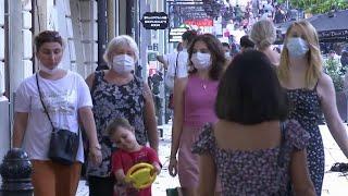 Грузия на первом месте в мире по количеству инфицированных коронавирусом на сто тысяч человек
