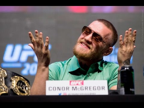 Conor McGregor vs. Nate Diaz 2 Press Conference