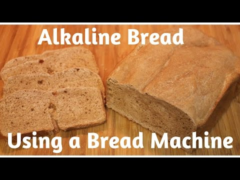 Alkaline Spelt Bread Using A Bread Machine! Dr Sebi Recipe