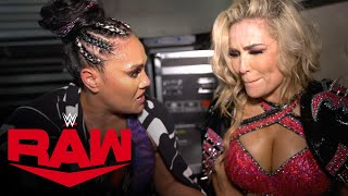 Natalya \u0026 Tamina stunned after Women's Tag Team Title defeat: Raw Exclusive, Sept. 20, 2021